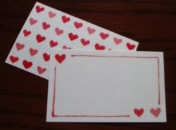 ジュエリーハートアート ジュエリー通販ショップ メッセージカード